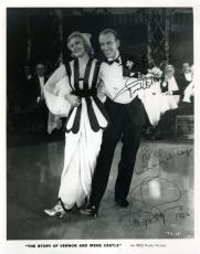Fred Astaire Ginger Rogers Jsa Signed 8x10 Photo Authenticated Autograph
