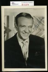 Fred Astaire Jsa Coa Hand Signed 5x7 Photo Authenticated Autograph