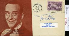 Fred Astaire Jsa Coa Hand Signed Fdc Authenticated Autograph