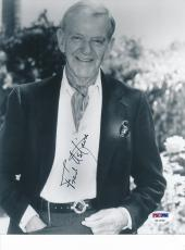Fred Astaire Signed 8x10 Photo Autograph Auto PSA/DNA Z11762