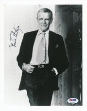 Fred Astaire Signed 8x10 Photo Autograph Auto PSA/DNA Z11764