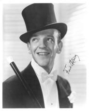 Fred Astaire Signed Authentic Autographed Vintage 8x10 Photo PSA/DNA #AB01478