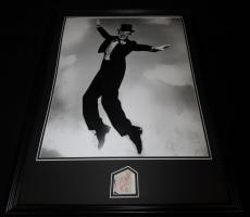 Fred Astaire Signed Framed 18x24 Photo Display JSA