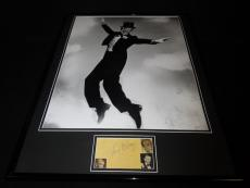 Fred Astaire Signed Framed 18x24 Photo Display JSA C