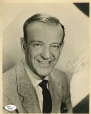 Fred Astaire Vintage Signed Jsa Certed 8x10 Photo Authenticated Autograph