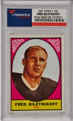 Fred Biletnikoff Oakland Raiders 1967 Topps #106 Card