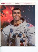 Fred Haise NASA Apollo 13 Astronaut Signed Autograph Photo COA