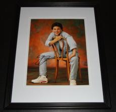 Fred Savage Signed Framed 8x10 Photo AW The Wonder Years Austin Powers