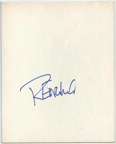 FREDDY KRUEGER Actor Robert Englund Signed Auto 8x10 Card Board Chit RARE J9
