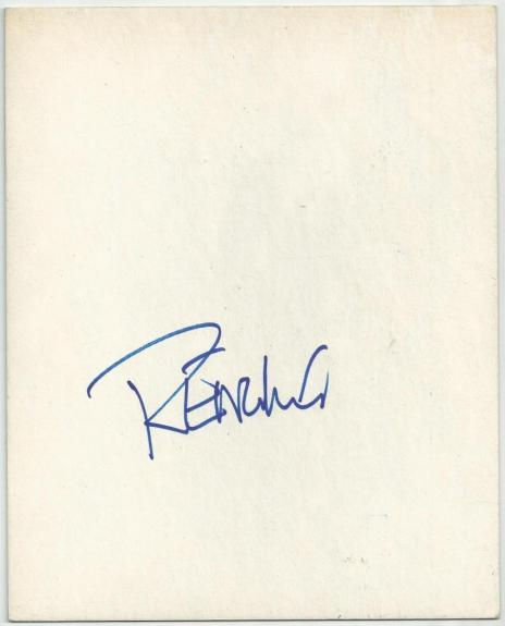 Peter Fonda Actor Producer Wyatt In Easy Rider Movie Signed Index Card Jsa Coa Cards & Papers Movies