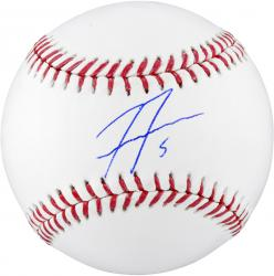 Freddie Freeman Atlanta Braves Autographed Baseball - Mounted Memories