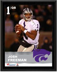"Josh Freeman Kansas State Wildcats Sublimated 10.5"" x 13"" Plaque"