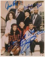 FRESH PRINCE OF BEL-AIRE signed WILL SMITH, JAMES AVERY, ALFONSO RIBEIRO + 2
