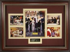 FRIENDS Cast Signed 11x14 Poster Framed Display