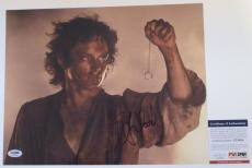 FRODO!!! Elijah Wood Signed LOTR LORD OF THE RINGS 11x14 Photo #2 PSA/DNA