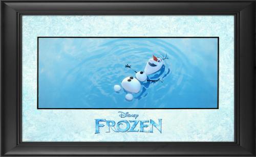 "Frozen Framed ""Frozen Things in Summer"" 11"" x 17"" Matted Photo"