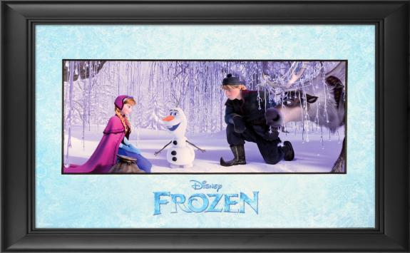 "Frozen Framed ""I Like Warm Hugs"" 11"" x 17"" Matted Photo"