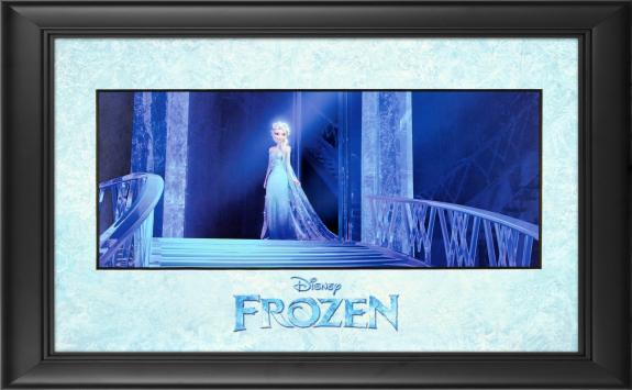 """Frozen Framed """"Queen Elsa"""" 11"""" x 17"""" Matted Photo"""