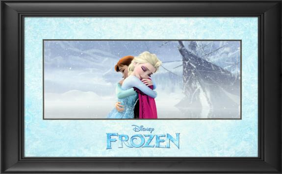 "Frozen Framed ""True Love's Embrace"" 11"" x 17"" Matted Photo"