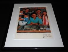 Full House 1987 Premiere ABC 11x14 Framed ORIGINAL Vintage Advertisement