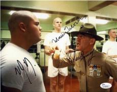Full Metal Jacket Cast Autographed Signed 8x10 Photo Authentic JSA AFTAL COA