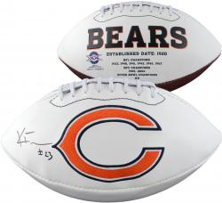 Kyle Fuller Autographed Chicago Bears Football
