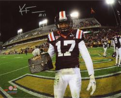 FULLER, KYLE AUTO (VA TECH/LUNCH PAIL) 8X10 PHOTO - Mounted Memories