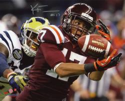 FULLER, KYLE AUTO (VA TECH/RED/VS MICH) 8X10 PHOTO - Mounted Memories