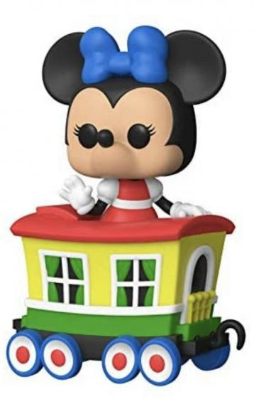 Funko Pop! Disney: Casey Jr Train Ride Minnie in Caboose Car In Hand
