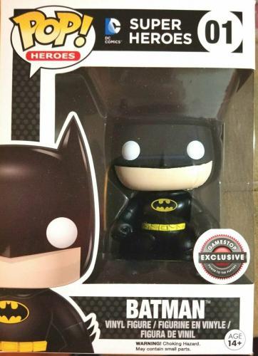 Funko Pop! Super Heroes 01 Batman Gamestop Black Friday Exclusive