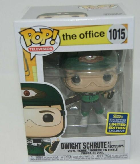 Funko Pop! The Office Dwight Schrute Recyclops #1015 Summer Convention 2020