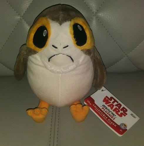 Funko Star Wars Galactic Porg Collectible Plush Toy W/tags Rare