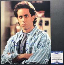 FUNNY!!! THE HILARIOUS Jerry Seinfeld Signed SEINFELD 11x14 Photo #2 BAS