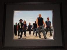 Furious 7 Cast Framed 11x14 Photo Poster Vin Diesel Paul Walker