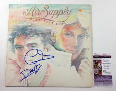 G. Russell & R. Hitchcock Signed Album Air Supply Greatest Hits 2 JSA AUTO