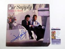 G. Russell & R. Hitchcock Signed Album Air Supply Hearts in Motion 2 JSA AUTOS