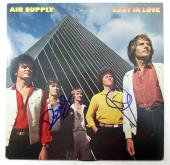 G. Russell & R. Hitchcock Signed Album Air Supply Lost in Love w/ 2 AUTOS