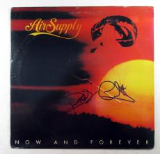 G. Russell & R. Hitchcock Signed Album Air Supply Now and Forever w/ 2 AUTOS