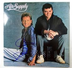 G. Russell & R. Hitchcock Signed Album Air Supply Self-Titled w/ 2 AUTOS