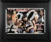G Unit 50 Cent, Young Buck & Lloyd Banks Signed 11x17 Framed Photo BAS #A87588