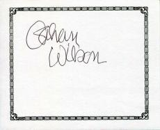Gahan Wilson Author & Cartoonist Artist Signed Autograph Bookplate