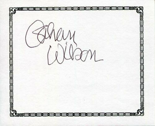 Gahan Wilson Author & Cartoonist Artist Signed Autograph Bookplate