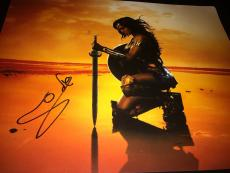 GAL GADOT SIGNED AUTOGRAPH 11x14 PHOTO WONDER WOMAN IN PERSON COA AUTO RARE NY E