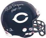 Chicago Bears Gale Sayers Autographed Helmet - Mounted Memories