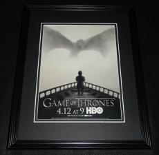 Game of Thrones 2015 Framed 11x14 ORIGINAL Advertisement HBO