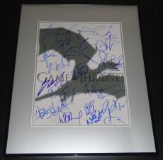 Game of Thrones Cast Signed Framed 11x14 Photo Poster AW 16 Signatures Dinklage