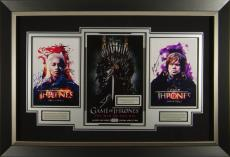 Game of Thrones Season 1 Cast Signed Poster Display