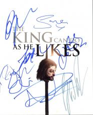 Game Of Thrones (George R.R. Martin + 7) Signed 8X10 Photo BAS #A10267