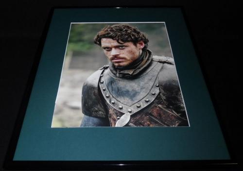 Game of Thrones Robb Stark Framed 16x20 Poster Display Richard Madden B