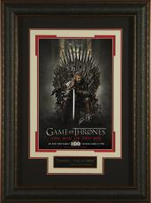 Game of Thrones - Sean Bean Signed 11x17 Poster Framed